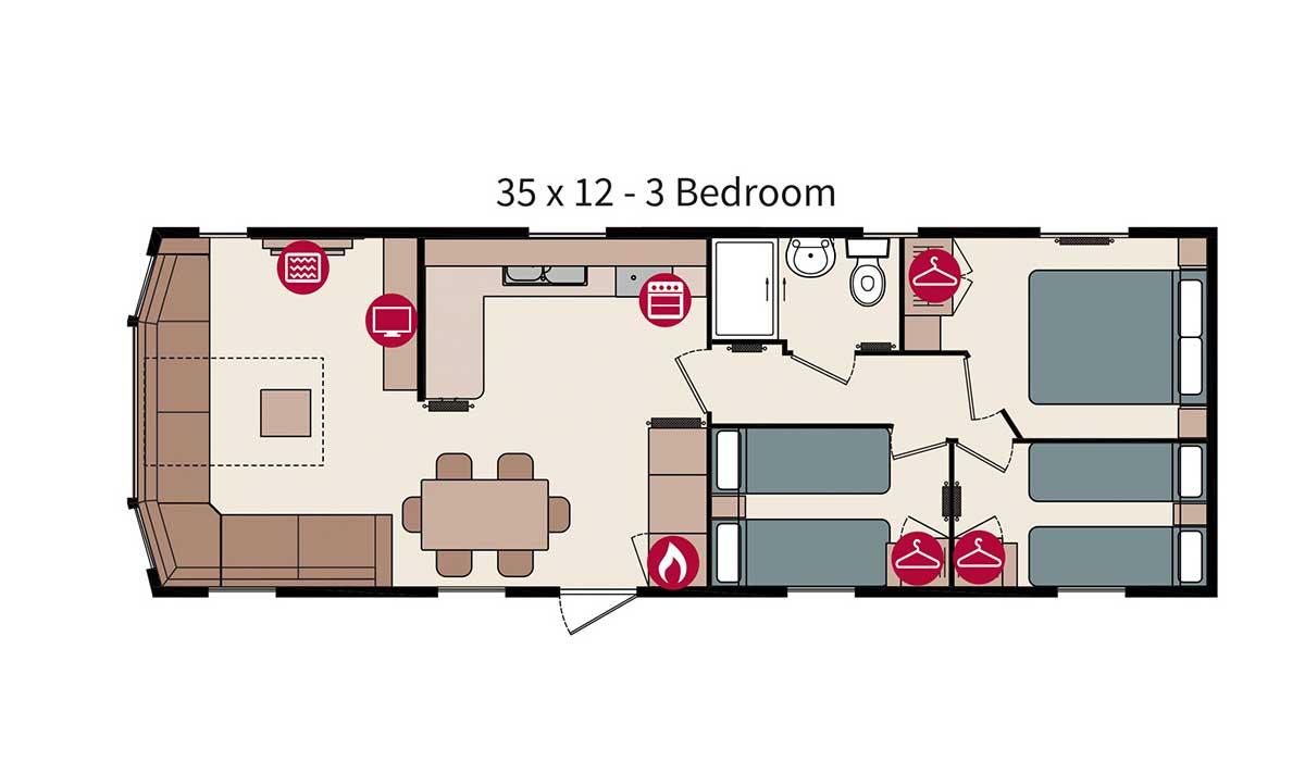 3 Bedroom Caravan Holiday Home - Award Winning Holiday ...